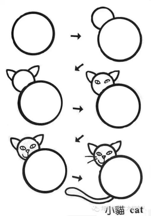 小孩吃月饼简笔画 一盘月饼的简笔画画法 一盘月饼简笔画 月饼简笔画