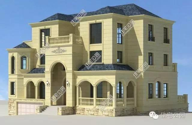 农村高端自建房 秒别墅成渣 18x20米 带地下室含平面图