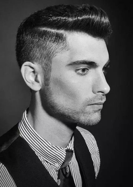 男士发型大全, 新年可以换个新发型