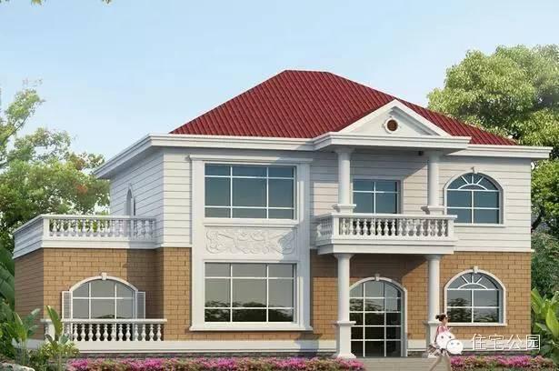 5套适合农村自建的简约二层小楼, 第四个最美!