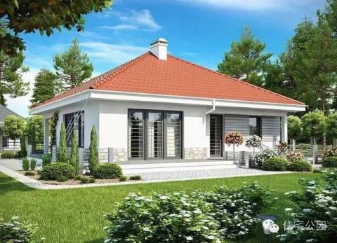 5套農村自建房單層戶型 現代風格適合80后90后